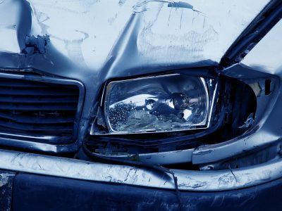 Accident damage to car