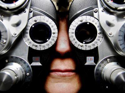Eyesight test equipment